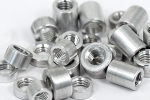 Alu Spacer mit Gewinde M5-M8 M6 (8.5mm) 10mm